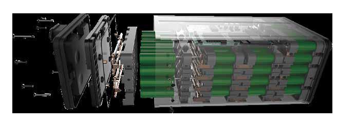 LVNENG LX01 robogó akkumlátor szerkezet