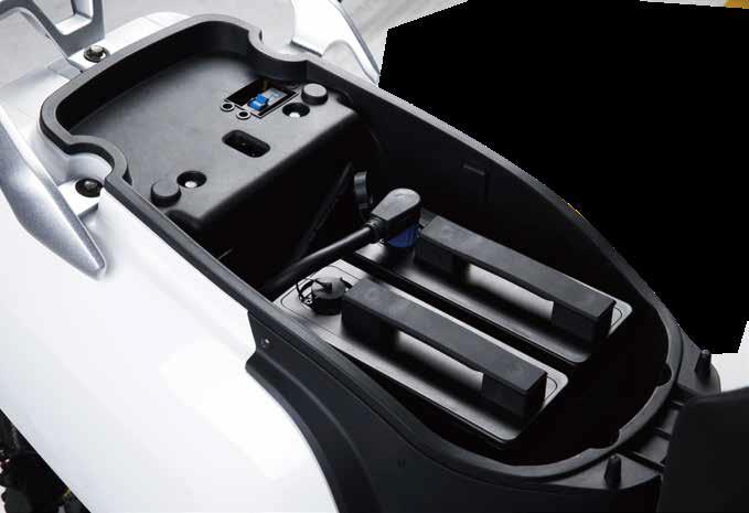 LVNENG LX05 Delivery elektromos robogó - akkumlátor