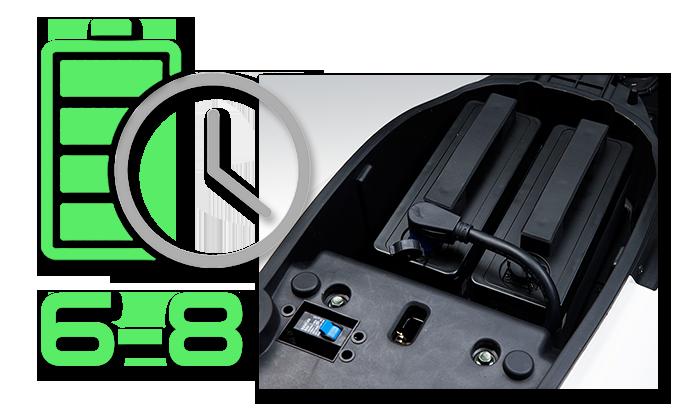 LVNENG LX01 elektromos robogó - töltési idő