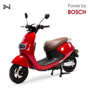 LVNENG LX02 elektromos robogó - piros